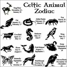 Celtic Zodiac: Quite different from the one my mother used. Yet keep in mind…
