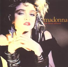 Madonna' nın ilk albümünün kapağı. The Fırst Album.
