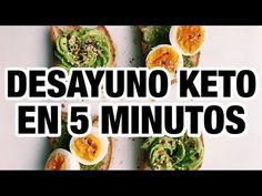 🍳☕️ DESAYUNO KETO EN 5 MINUTOS | KETO BREAKFAST | Manu Echeverri - YouTube All Vegetables, Fruits And Veggies, Ketogenic Recipes, Keto Recipes, Comida Keto, Diet Plan Menu, Lean Protein, Good Fats, Base Foods