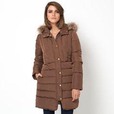 Compre Blusão comprido com capuz Mulher na La Redoute. O melhor da moda online.