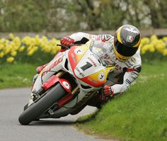 Olivers Mount action. Yet another win for Guy Martin on the Hydrex Honda. One of the UK racing scenes real characters.