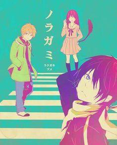 Yukine, Hiyori & Yato | Noragami