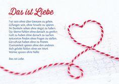 Das ist Liebe - Postkarten - Grafik Werkstatt Bielefeld