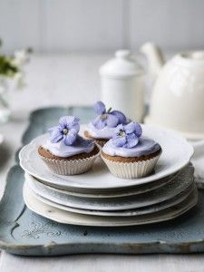 Reclaim the weekend: Violet cakes - Food and drink - Country Living Ed