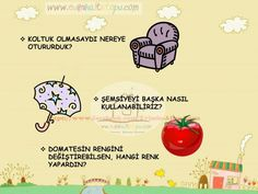 çocukların hayal gücünü geliştiren sorular (5) | Evimin Altın Topu Turkish Lessons, Time Kids, Creative Thinking, School Teacher, Montessori, Activities For Kids, Preschool, Entertaining, Education