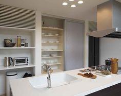 キッチン 注文住宅のアキュラホーム