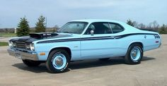 My dad has one in yellow 73 Plymouth Duster
