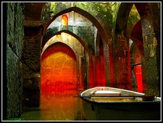Ramla, The Ancient Pool of Arches in Israel