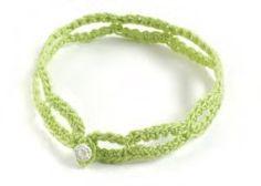 Crochet Bracelets - free pattern