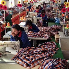 Rare photos of life in North Korea  -  March 13, 2017:      North Korean seamstresses work at rows of sewing machines at the Sonbong Textile Factory inside the Rason Special Economic Zone.