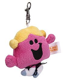 Simba Little Miss Chatterbox Clip On Soft Toy Purple - 3 Inches