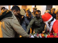 Santa Claus in Police Station | Amazing video