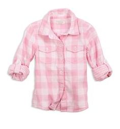 77 pretty double gingham shirt for lil one