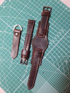 2232700fcf766 30 Best watch strap images in 2017   Watch straps, Leather bracelets ...