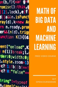 Learn Computer Science, Computer Programming, Free Teaching Resources, Teaching Math, Free College Courses, Machine Learning Course, Group Theory, Machine Learning Artificial Intelligence, Drug Discovery
