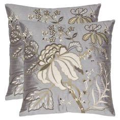 2-Pack Barna Decorative Pillows - Blue/Gray