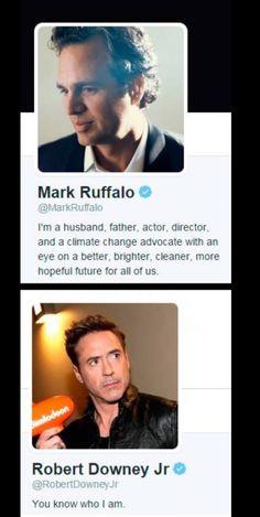 Those Avengers boys!