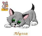"""Résultat de recherche d'images pour """"alyssa prénom"""":"""