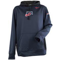 USA Hockey® Nike Navy Blue Hoodie XL