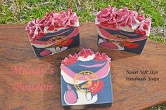 Milady's Boudoir Soap Bars by SweetSoftSkin on Etsy