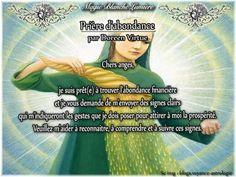 Prière d'abondance Page Facebook :  Spiritualité, Magie Blanche Lumière