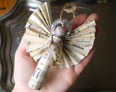 Clothespin Angels  Handmade Ornaments made with by smilemercantile, $27.50
