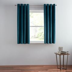 Buy Teal John Lewis & Partners Lustre Velvet Pair Lined Eyelet Curtains, x Drop from our Ready Made Curtains & Voiles range at John Lewis & Partners. Teal Curtains, Blue Colour Palette, Types Of Curtains, Luster, Curtain Length, Curtains Bedroom, Curtains, Curtains Width, Curtain Poles