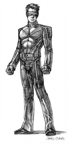 X Men X2 concept art by James Oxford