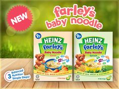 These short and smooth noodles are easily digestible for babies and help develop their chewing and swallowing abilities.
