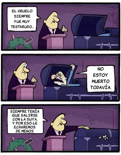 El abuelo testarudo. #humor #risa #graciosas #chistosas #divertidas