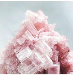 Pink halite. Crystal table salt.  Heart, anxiety.