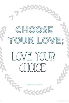 Ame sua escolha