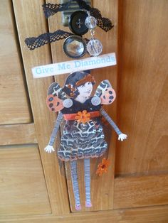 Art doll using images from The Graphics Fairy and Art Chix