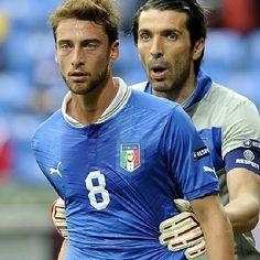 Marchisio and Gigi Buffon  Italy national football team