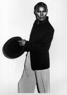 Grace Jones? Image courtesy of Adrian Boot. All rights reserved.