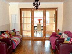 Vufold Edge 8ft Internal Bifolding door, Leicestershire