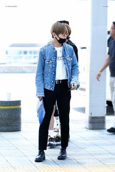 [AIRPORT] 160601: BTS V (Kim Taehyung) #bts #bangtan #bangtanboys #fashion #style #kfashion #kstyle #korean #kpop