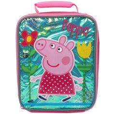 Have lunch Peppa-style with this Peppa Pig lunchbox!