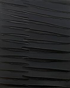 """""""Peinture 162×130 cm 16 Septembre 2008"""" — Pierre Soulages"""