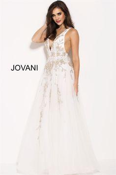 Jovani 60660 -Formal Approach Prom Dress