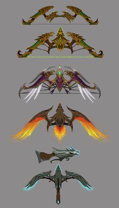 Marksmanship Hunter Weapons from World of Warcraft: Legion