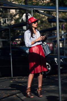 Sofia Guellaty, senior fashion editor @ Style.com Arabia