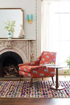 Sketched Safari Tillie Chair, Luke Edwards Hall, $1,298