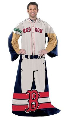 """Boston Red Sox 48""""""""x71"""""""" Comfy Throw - Player Design Z157-8791855292"""