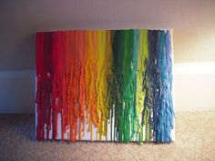 I really want to try this... not sure my family will be okay with sacrificing that many crayons. O.o