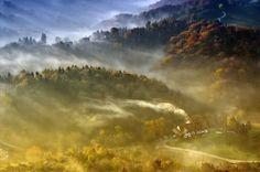 Autumn, mist, sunrise  by Darko Geršak (Slovenia)