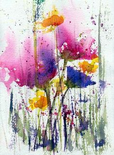 Meadow Medley Painting - Meadow Medley Fine Art Print