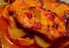 Polish Recipes, My Recipes, Cooking Recipes, Kielbasa, Pork Dishes, Tandoori Chicken, Food Porn, Food And Drink, Tasty