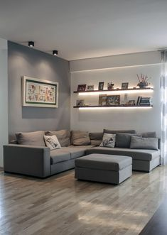 Best Modern Living Room Ideas for Your Home. We have put together all of our favourite modern living room design ideas and inspirations for the season so you can be inspired to get the perfect look. All the modern living room design ideas you'll need. Small Living Room Design, Living Room Grey, Home Living Room, Apartment Living, Living Room Designs, Living Room Decor, Men Apartment, Cozy Living, Masculine Living Rooms