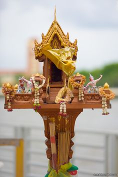 Thai spirit houses evoke an old childhood love of dollhouses...